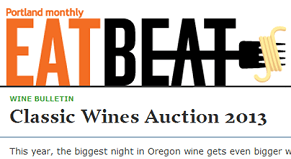 Classic Wines Auction in Portland Monthly