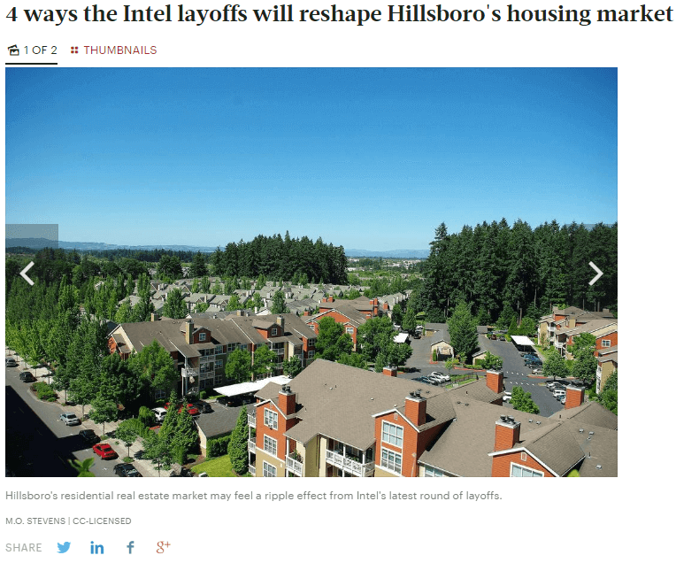 Windermere Real Estate in the Portland Business Journal