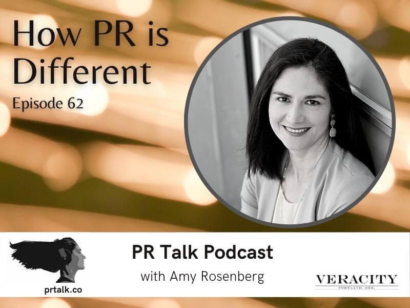 How PR is Different - PR Talk Podcast
