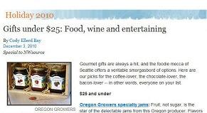 Oregon Growers in Seattle Times